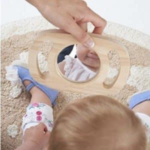 espejo bebés