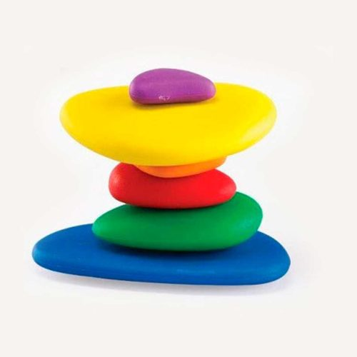 piedras colores niños