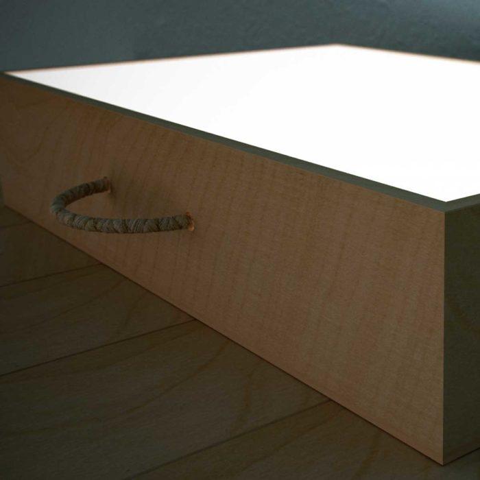 caja de luz niños