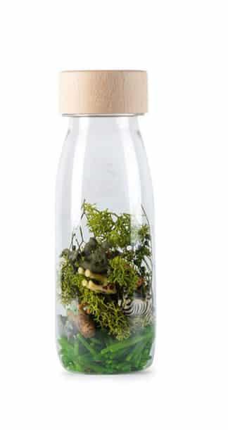 Botella sensorial jungle