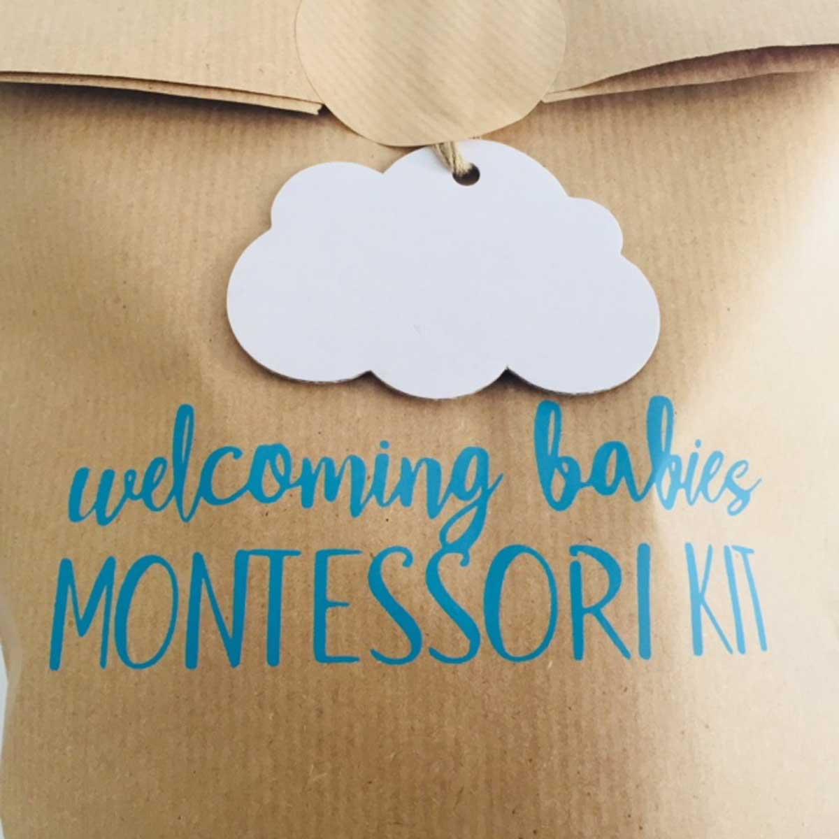 Juguetes Montessori para bebés