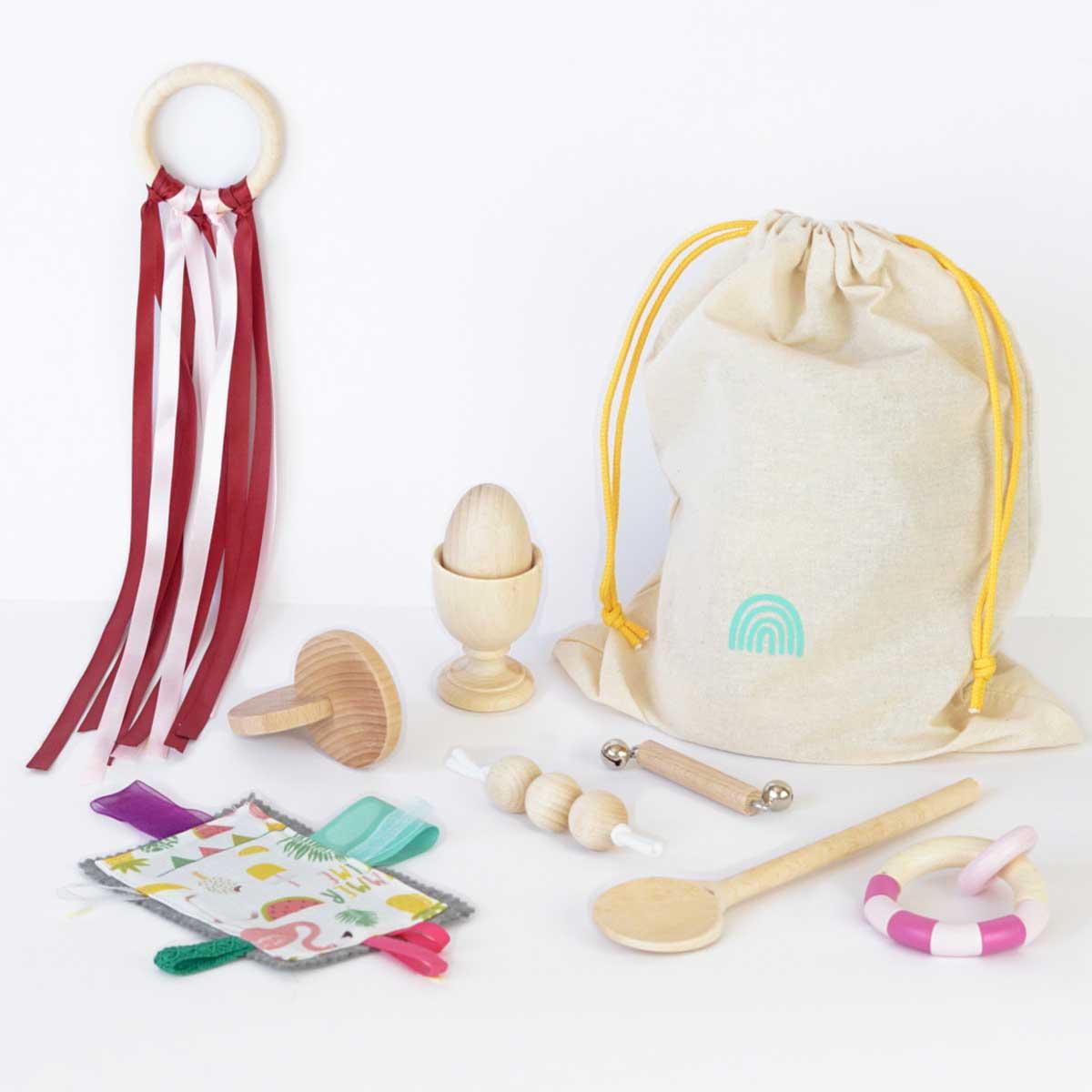juguetes montessori bebe