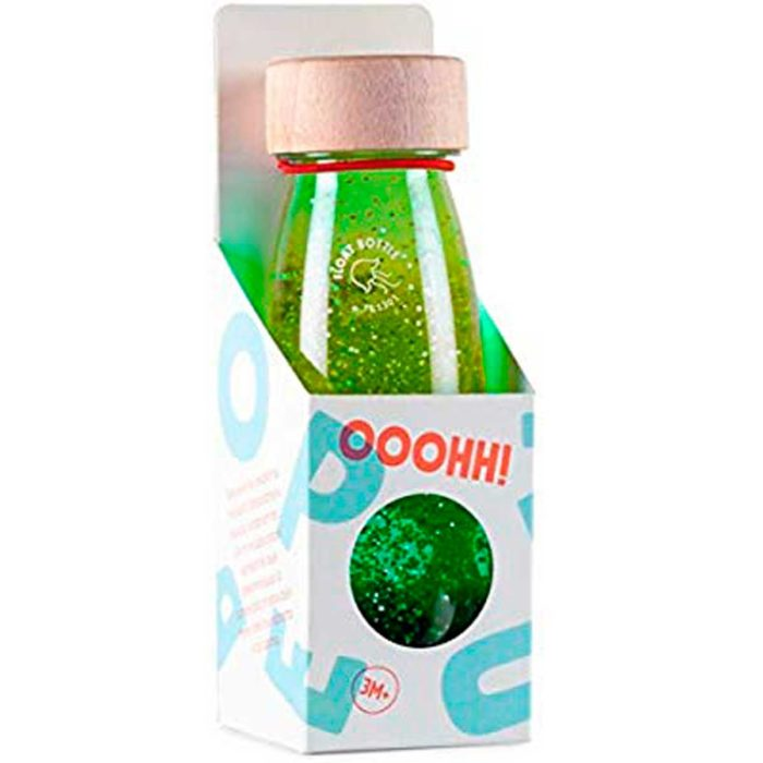 botella sensorial para bebes