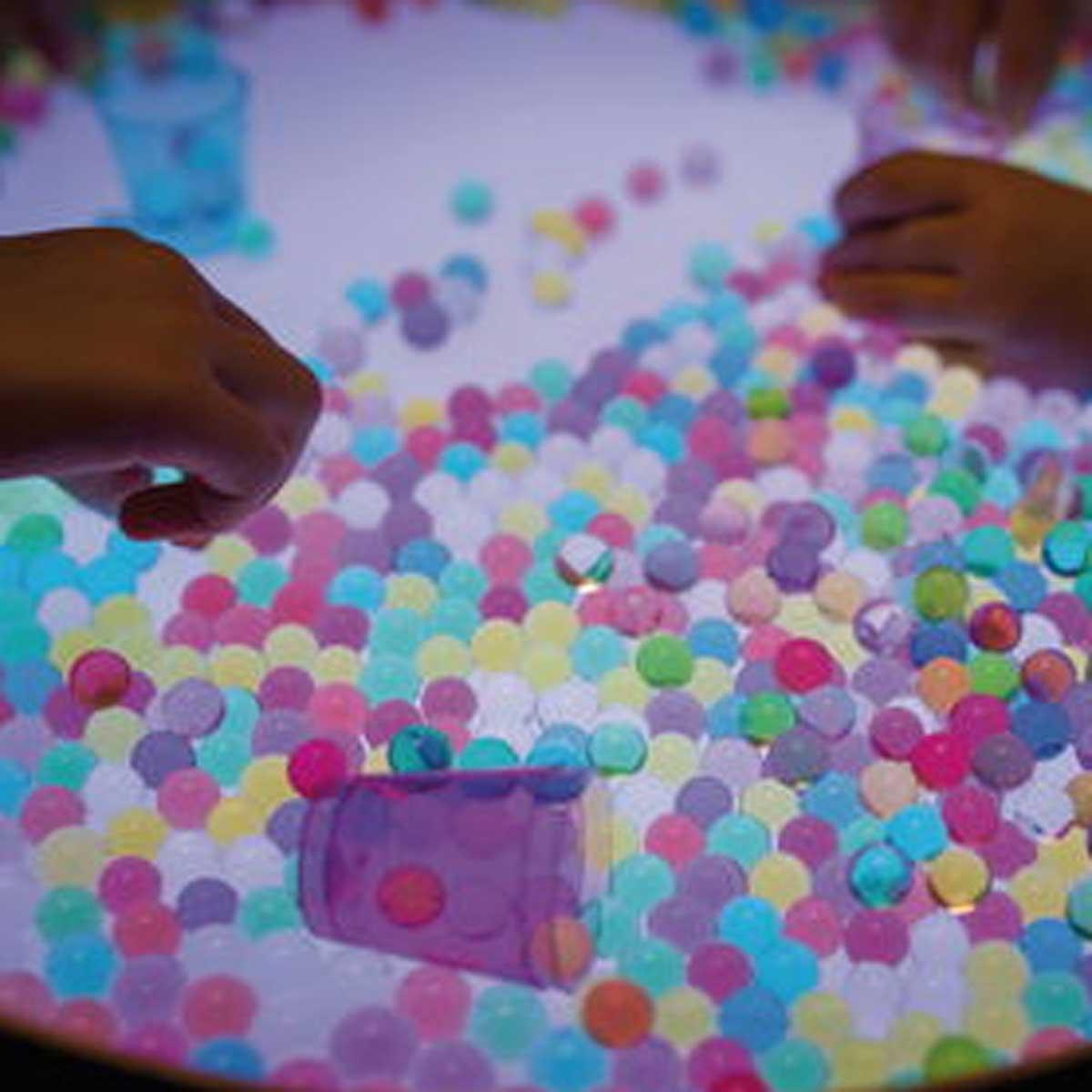 bolas de gel niños