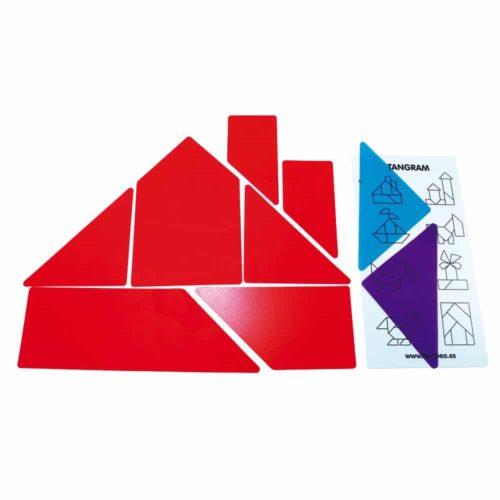 tangram caja de luz