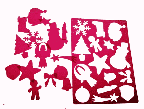 plantilla de Navidad